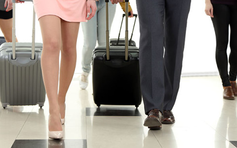Ergonomic Strategies for Using a Suitcase
